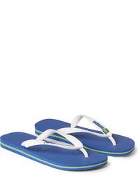 Havaianas Brasil Rubber Flip Flops