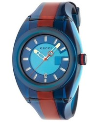 Blue Rubber Watch
