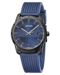 Calvin Klein Evidence Silicone Band Watch