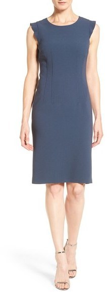 b898a380ad82 Elie Tahari Stefana Ruffle Sleeve Sheath Dress, $398 | Nordstrom ...