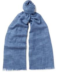 Brina mlange cashmere and silk blend scarf medium 4110512