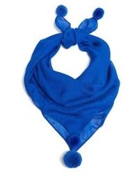 Pompom modal cashmere scarf medium 4154944
