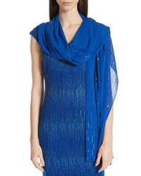 St. John Collection Sparkle Silk Wrap