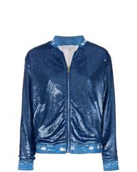 Sequin nanaso bomber jacket medium 8265000