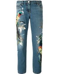 Roberto Cavalli Sequinned Jeans