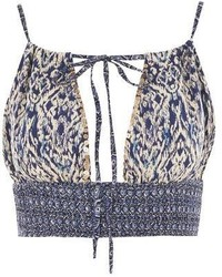 Band of Gypsies Marrakesh Halterneck Crop Top