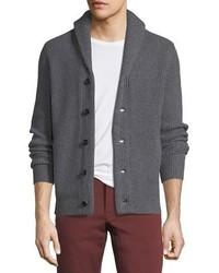 Neiman Marcus Cashmere Collection Cashmere Shawl Collar Cardigan