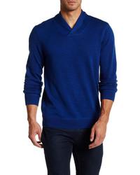14th Union Slub Shawl Collar Sweater