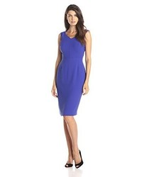 Andrew Marc Marc New York By Cap Sleeve V Neck Sheath Dress