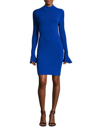 MICHAEL Michael Kors Michl Michl Kors Long Bell Sleeve Sheath Dress