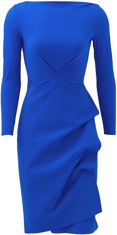f75e2987 La Petite Robe di Chiara Boni Navy Cassandre Sheath, $100 | Rent The ...