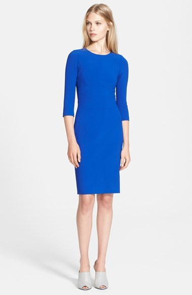 Narciso Rodriguez Scuba Crepe Sheath Dress | Where to buy & how to ...