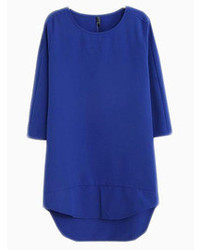 Choies Blue Shift Basic Dress
