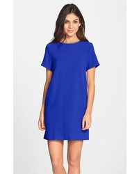 Devery crepe shift dress medium 254537