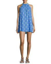 Kate Spade New York Champagne Reef Halter Shift Dress