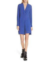 Rag & Bone Shields Silk Minidress