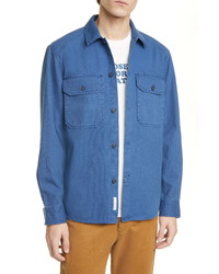 Closed Military Button Up Overshirt