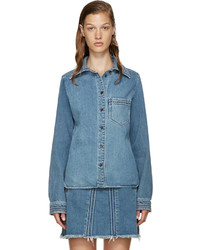 Chloé Blue Denim Shirt