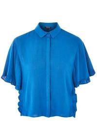 Topshop Frill Detail Shirt