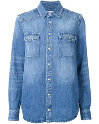 Givenchy Studded Denim Shirt