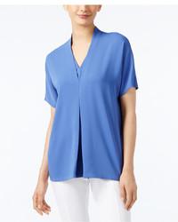 Alfani Short Sleeve V Neck Blouse Only At Macys