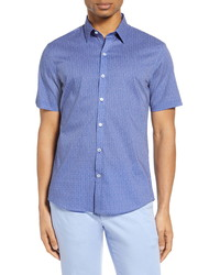 Zachary Prell Phiri Classic Fit Short Sleeve Button Up Shirt