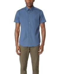 Theory Sylvain Wealth Short Sleeve Shirt