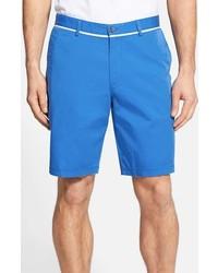 Hugo Boss Boss Clyde Flat Front Gabardine Stretch Cotton Shorts