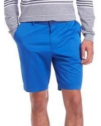 Hugo Boss Cotton Gabardine Shorts