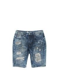 Staple Destroy Denim Shorts