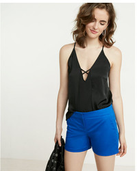 Express Fly Front Cotton Shorts
