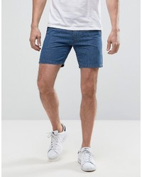 Selected Homme Shorts With Dot Stitch Detail