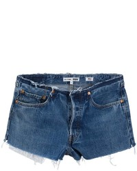Re done no waist mid rise shorts medium 775428
