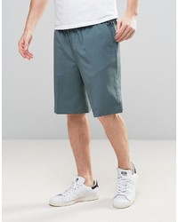 Asos Tailored Basketball Shorts In Blue