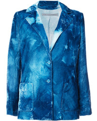 Distressed tie dye blazer medium 4471475