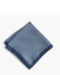 J.Crew Silk Pocket Square In Dot