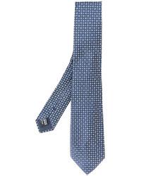 Giorgio Armani Circle Pattern Tie