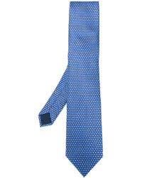 Lanvin Diamond Pattern Tie