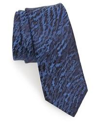 Jacquard silk skinny tie medium 1150209