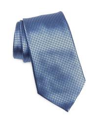 Ermenegildo Zegna Quadri Colorati Silk Tie