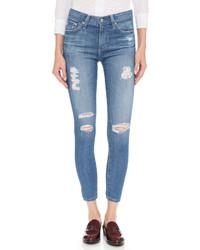 AG Jeans Ag Farrah High Rise Crop Skinny Jeans
