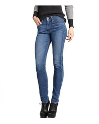 AG Jeans Medium Blue Stretch Denim Farrah Skinny Jeans