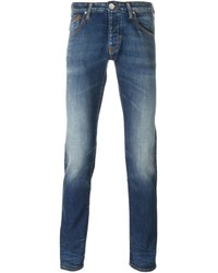 Armani Jeans Stone Washed Skinny Jeans