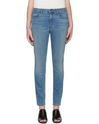 Helmut Lang Blue Skinny Jeans