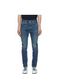RRL Blue Slim Narrow Selvedge Jeans