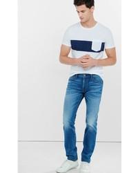 Blue Slim Rocco Skinny Leg Jean