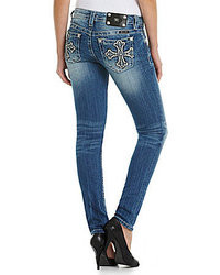 Miss Me Cross Pocket Skinny Jeans