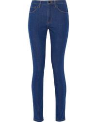 Victoria Beckham Denim Powerhigh High Rise Skinny Jeans Mid Denim