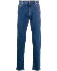 Off-White Diagonal Pocket Skinny Jeans