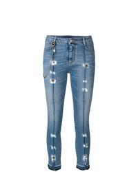 Distressed skinny jeans medium 7604977